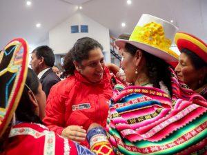 Ministra Muñoz destacó rol de la mujer en lucha contra el cambio climático