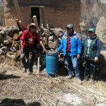 Pasco: Pequeños agricultores aplican abono elaborado con asistencia técnica