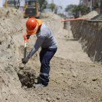Renuevan redes de agua y alcantarillado en distritos de Lambayeque