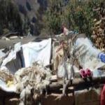 Familias afectadas por vientos fuertes en Otuzco recibieron ayuda humanitaria