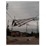 San Martín: Evalúan daños por fuertes vientos en 11 distritos