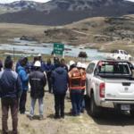 Puno: Rehabilitan paso peatonal tras desborde de lagunas