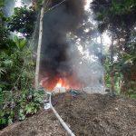 Vraem: Destruyen seis laboratorios clandestinos de elaboración de PBC
