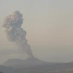 Nueva explosión del volcán Sabancaya alcanzó emisión de ceniza de 4000 metros de altura