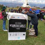 Reducen residuos sólidos en 90% en festividad del Santuario Histórico de Pampa de Ayacucho