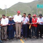 Amazonas: Inauguran carretera que impulsará turismo en Kuélap
