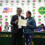 Reconocen iniciativas de producción agroecológica en Junín