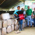 Alto Monzón: Entregan módulos de beneficio de café a productores