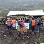 Huancavelica: Entregan cobertizos y promueven reforestación contra el cambio climático