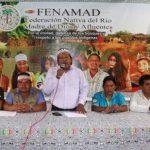 Fenamad cumplió 38 años luchando a favor de reivindicaciones indígenas