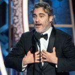 Actor Joaquin Phoenix resaltó necesidad de combatir al cambio climático