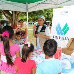 Realizan actividades preventivas de consumo de drogas en San Martín