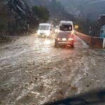 Fuertes lluvias afectan distritos de Moquegua