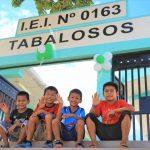 San Martín: Inauguran cuatro locales escolares del corredor Tabalosos