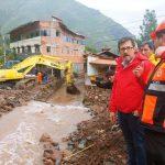 Buscan contener emergencia y recuperar zona afectada por desborde en Pisac