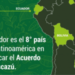 Ecuador ratificó Acuerdo de Escazú