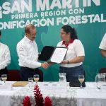 Minam, GORE San Martín y Serfor presentaron la primera Zonificación Forestal del Perú