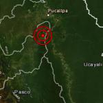 Sismo en la provincia huanuqueña de Puerto Inca