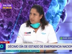 Ministra Muñoz: Se requiere una actitud solidaria para hacer frente al coronavirus