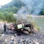 Cusco: Intervienen maquinaria pesada que era empleada por mineros ilegales