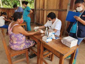 Envían pruebas de Covid-19 para 75 comunidades nativas de Madre de Dios