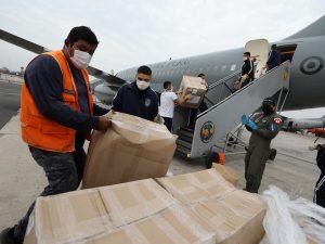 Envían 21 toneladas de insumos médicos a Loreto y Ucayali