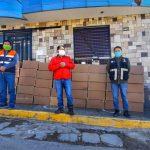 Vraem: Entregan más de 16 000 mascarillas en La Mar
