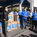 Cusco recibió 19 toneladas de equipos medicos para combatir COVID-19