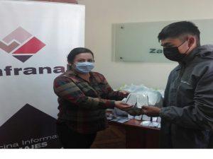 Arequipa: 23 mil mascarillas comunitarias para cinco distritos en Castilla y Caylloma