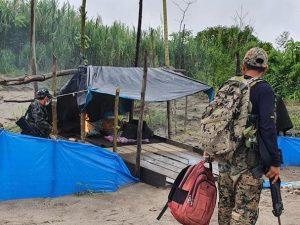 Madre de Dios: Intervienen equipos usados por mineros ilegales en Laberinto