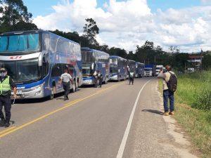 San Martín es la región que más retornantes movilizó por cuarentena