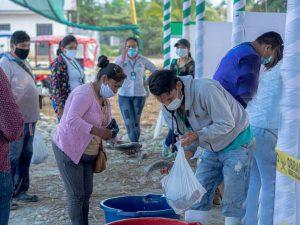 San Martín: Piscicultores de Tocache venden 800 kilos de pescado en mercado itinerante