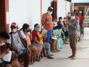 Loreto: Cuatro comunidades reciben atención frente al Covid-19
