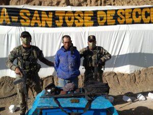 Vraem: Intervienen a dos presuntos terroristas armados