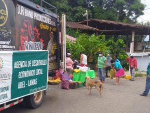 San Martín: Más localidades beneficiadas con mercados itinerantes