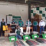 San Martín: Módulos de beneficio de café para productores de Shunte y Pólvora