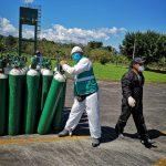 118 balones de oxígeno para el hospital de Tarapoto