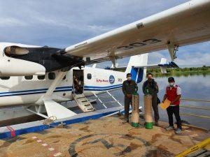 Loreto: PIAS facilitan balones de oxígeno a comunidades nativas