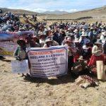 Comunidades originarias se retiran de Comité de gestión de Convenio marco de Espinar