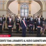 Presidente Vizcarra tomó juramento al nuevo gabinete presidencial