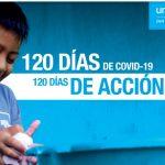 Divulgan acciones hechas para combatir al COVID-19 en la niñez peruana