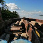 Loreto: Intervienen embarcación con madera sin sustentación legal