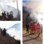 Extinguen incendios forestales en cinco regiones del país