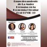 Estudiantes de la UNI realizan evento virtual sobre la economía circular post COVID-19