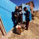 Menores bajo acogimiento familiar reciben canastas de alimentos