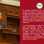 Mensaje del Presidente no reconoció a la agricultura familiar campesina