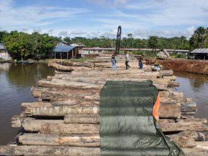 Intervienen madera transportada sin autorización en Loreto