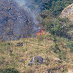 Controlan incendios en áreas naturales protegidas