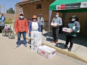 Junín: 1700 familias beneficiadas con entrega de kits veterinarios