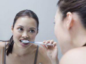 No use el cepillo de dientes sin antes lavarse las manos